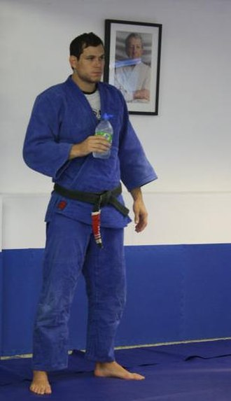 Roger Gracie - Roger Gracie at the Andy Roberts BJJ Academy in Farnborough, UK.