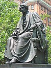 Roger B. Taney statue, Mount Vernon Place, Baltimore, MD.jpg