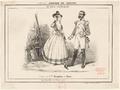 Roles de Melle Borghèse et Henri dans la Fille du Régiment (Chronique des Theâtres, 1840 - Gallica.png