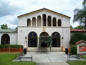 Annie Russell Theatre - Image: Rollins College Russell Theatre 01
