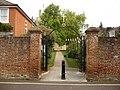 Romsey - Jubilee Gates - geograph.org.uk - 1581535.jpg