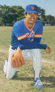 Ron Darling 1986 by Barry Colla