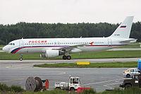 VP-BWH - A320 - Rossiya