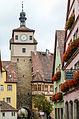 Rothenburg ob der Tauber, Stadtbefestigung, Weißer Turm-20121030-005.jpg
