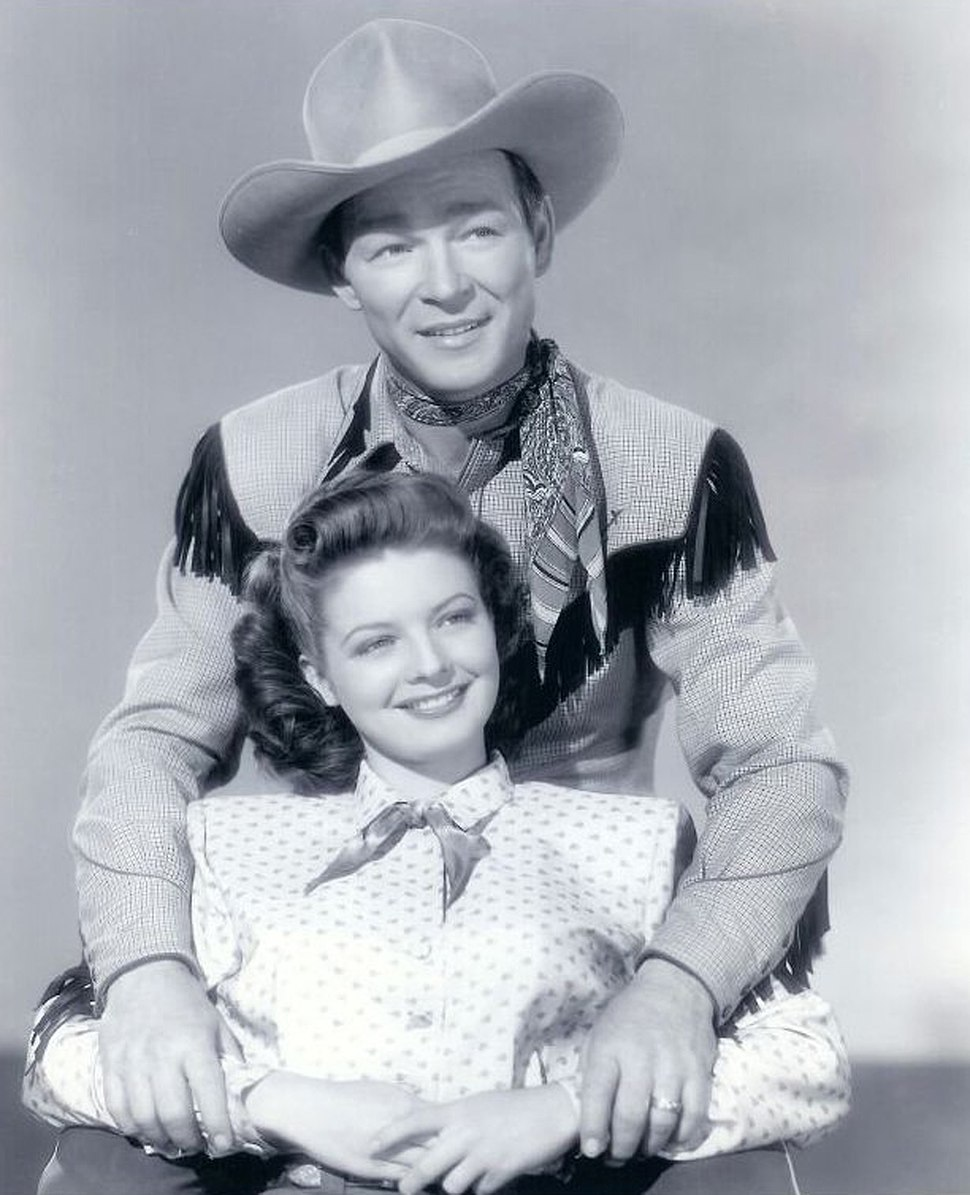 Roy Rogers and Gail Davis 1948