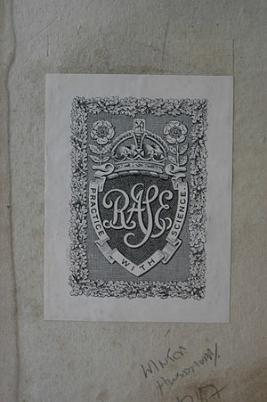 Royal Agricultural Society of England - Royal Agricultural Society of England (RASE) bookplate.