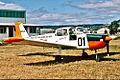 Royal Hutt River Province Air Force Fuji FA-200-160 Aero Subaru at Parafield Airport.jpg