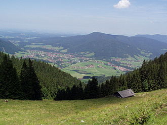 Ruhpolding - Ruhpolding in late-July 2005