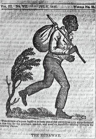Fugitive slaves in the United States - Runaway slave poster