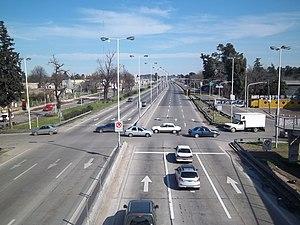 González Catán - Image: Ruta 3 en González Catán hacia el sur