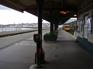 Ryde Pier Head railway station Railway Station on the Isle of Wight, England