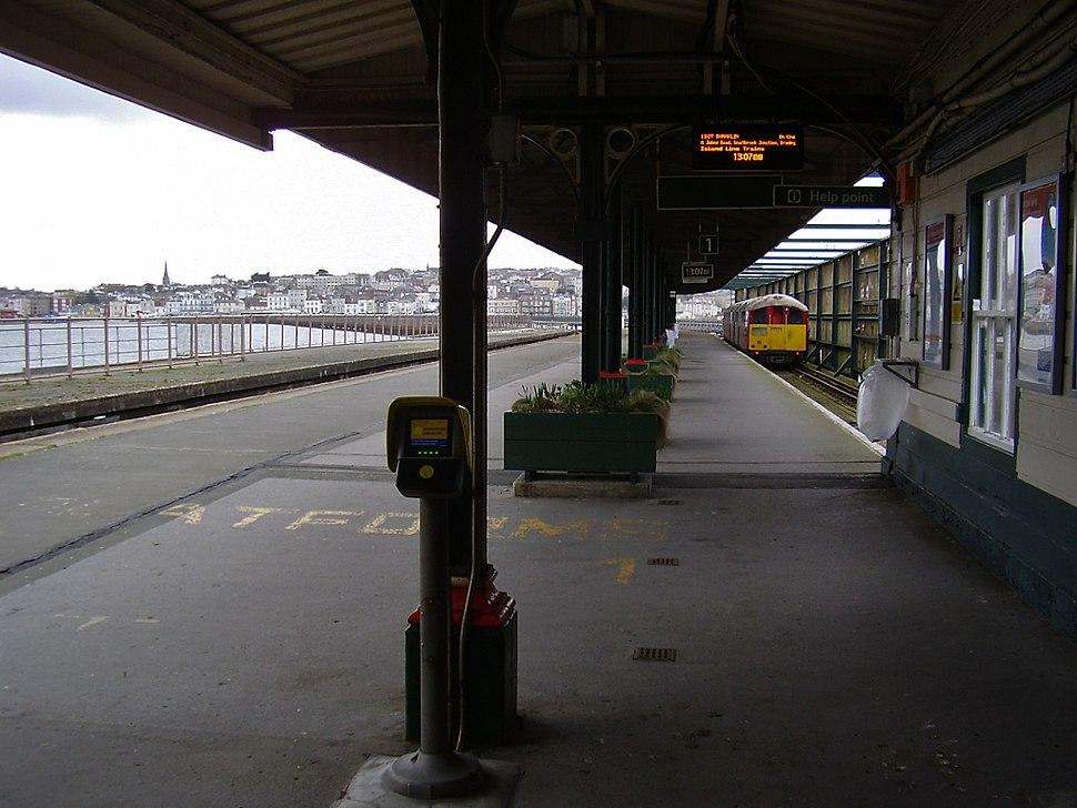 Ryde Pier Head Station, IW, UK