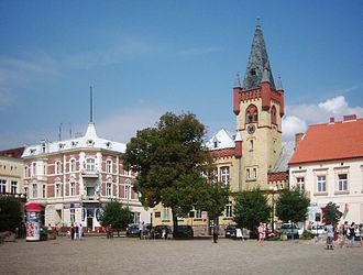 Świecie - Market square