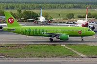 VP-BOG - A320 - S7 Airlines