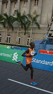 Kenneth Mburu Mungara Kenyan long-distance runner