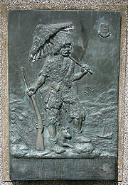 "Plaque 'commemorating' Robinson Crusoe's departure from Hull - ""Had I the sense to return to Hull, I had been Happy..."""