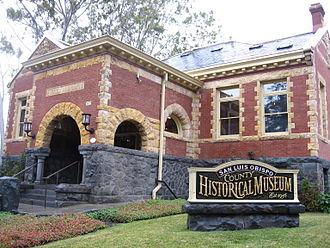 San Luis Obispo Carnegie Library - Image: SLO historical museum