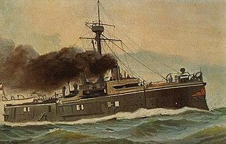 SMS Oldenburg (1884) - Image: SMS Oldenburg (1884)