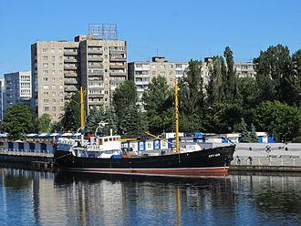 Fishing industry in Russia - Image: SRT 129 Kaliningrad Museum