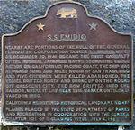 The S.S. Emidio marker