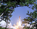 STS-114 Space Shuttle Discovery lifts off.jpg