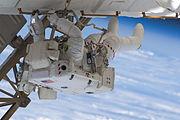 STS-127 EVA3 Cassidy