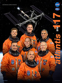 STS117 crewposter