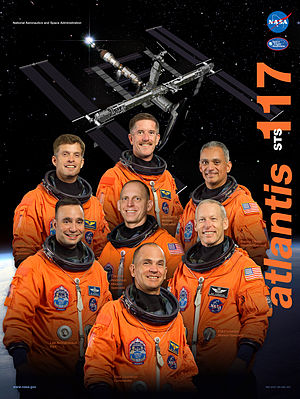 STS-117 - mission poster