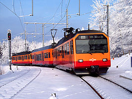 Be 556 524 te Uetliberg station