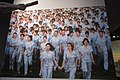 SZ 深圳博物館 Shenzhen Museum 深圳改革開放史展廳 Reform and Opening-up History Sept 2017 IX1 Female people modern photo factory women workers walking together 02.jpg