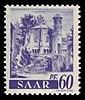 Saar 1947 221 ehemalige Benediktiner Abtei Mettlach, Alter Turm.jpg