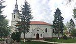 Église réformée de Sacueni BH (côté) .JPG
