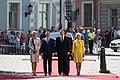 Saeimas priekšsēdētāja piedalās Polijas prezidenta oficiālajā sagaidīšanas ceremonijā (41231046590).jpg