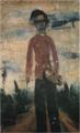 SaekiYūzō-1924-Self-Portrait a Standing Posture.png