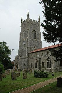 Saham Toney village in the United Kingdom