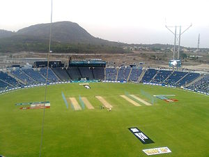 Pune Warriors India - Maharashtra Cricket Association Stadium at Gahunje, the home ground of Pune Warriors India from 2012–2013
