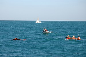 Sailors rescue an Iranian mariner..jpg