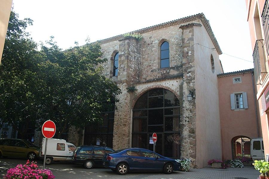 Saint-Chinian (Hérault) - ancienne abbatiale.