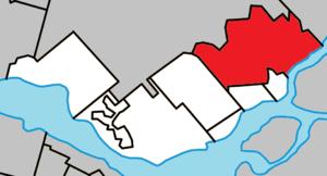 Saint-Eustache, Quebec - Image: Saint Eustache Quebec location diagram