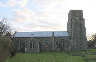 Saxlingham Human settlement in England