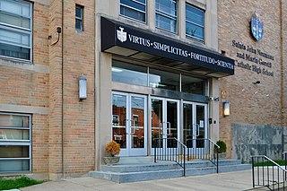 Saints John Neumann and Maria Goretti Catholic High School Private catholic preparatory high school in Philadelphia, Pennsylvania, United States