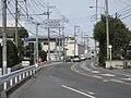 Saitama Prefectural Road Route 165 in Sakura-ku, Saitama City.jpg