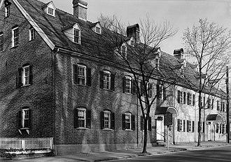 Single Brothers' House - Image: Salem College, Brothers House, 600 South Main Street, Winston Salem (Forsyth County, North Carolina)