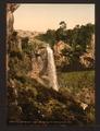 Salins waterfall, near de Mauriac, Auvergne Mountains, France-LCCN2001697564.tif