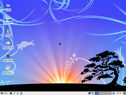 Screenshot of Salix OS 13.0