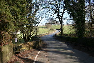 Worsthorne-with-Hurstwood Human settlement in England