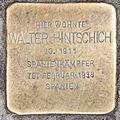 Salzburg - Schallmoos - Ignaz-Härtl-Straße 11 - Stolperstein Walter Hintschich.jpg