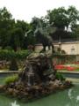 Salzburgo, palacio Mirabell, fuente de Pegaso..TIF
