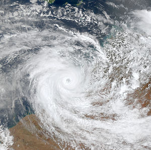 2000–01 Australian region cyclone season - Image: Sam Dec 8 2000 0210Z