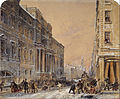 Samuel Bough - Snowballing Outside Edinburgh University - Google Art Project.jpg